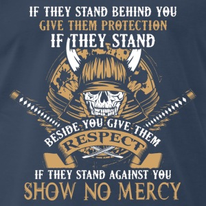 The way of samurai – Show No Mercy - Men's Premium T-Shirt