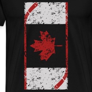 Canadian hockey - Canadian love hockey - Men's Premium T-Shirt