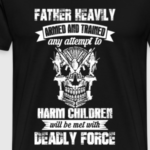 Deadly Force - gun owner lover - Solider - Men's Premium T-Shirt