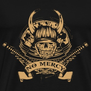 The way of a samurai – No Mercy - Men's Premium T-Shirt
