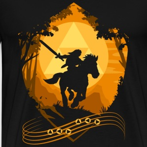 Length of zelda – Gaming - Men's Premium T-Shirt