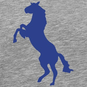 horse shade shadow figure 87 T-Shirts - Men's Premium T-Shirt