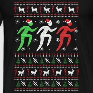 Christmas runner – Love running - Men's Premium T-Shirt