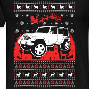 Jeep Christmas Sweater - Men's Premium T-Shirt