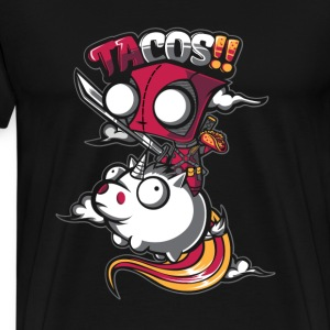 Tacos - A traditional Mexican dish - Men's Premium T-Shirt