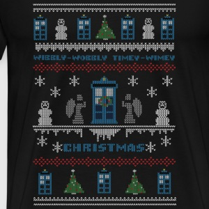 Doctor who – Wibbly Wobbly Timey Wimev - Men's Premium T-Shirt