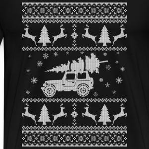 Jet Christmas Sweater - Men's Premium T-Shirt
