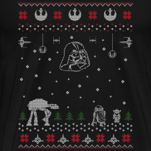 Star War Christmas Sweater - Men's Premium T-Shirt