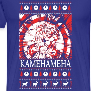 Dragon Ball – Kamehameha Christmas Sweater - Men's Premium T-Shirt