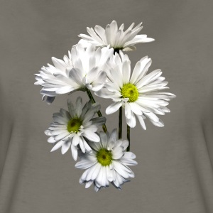 Cascade of White Daisies - Women's Premium T-Shirt