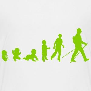 evolution nordic walking Kids' Shirts - Kids' Premium T-Shirt