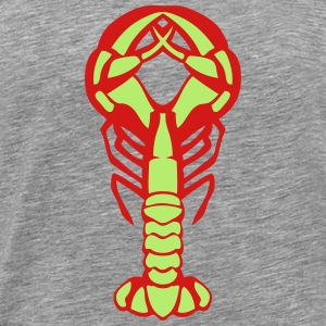 lobster fruit mer 0 T-Shirts - Men's Premium T-Shirt