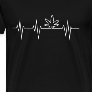Stoner - hearbeat - Men's Premium T-Shirt