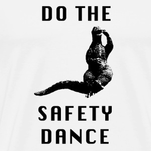 Godzilla - Safety dance - Men's Premium T-Shirt