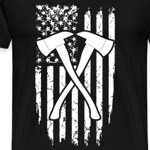 Firefighter - Usa - Men's Premium T-Shirt