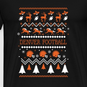 Denver Football Chirstmas - Men's Premium T-Shirt