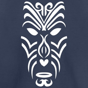 maori tribal tattoo mask 2 ethnic mask Kids' Shirts - Kids' Premium T-Shirt