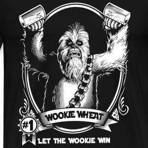 Chewbacca Wookiee - Let the wookie win - Men's Premium T-Shirt