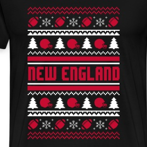 New England Chritmas sweater - Men's Premium T-Shirt
