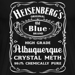 Heisenberg's original old blue brand - Men's Premium T-Shirt