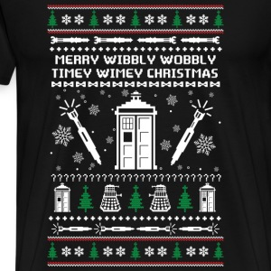 Doctor Who - Wibbly wobbly timey wimey - Men's Premium T-Shirt