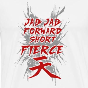 Jab Jab forward short firece - Men's Premium T-Shirt
