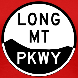 Long Mountain Parkway Shield Women's T-Shirt - Women's Premium T-Shirt