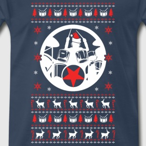 Drummer Christmas Sweater - Men's Premium T-Shirt