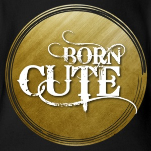 T-Shirt Born Cute - Baby Short Sleeve One Piece