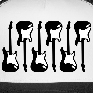 guitar, electric guitars Sportswear - Trucker Cap