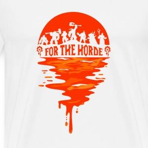 World of warcraft- For the horde t-shirt - Men's Premium T-Shirt