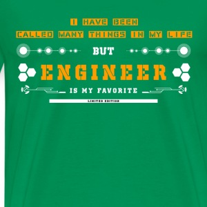 Engineer-Engineer is my favorite in my life - Men's Premium T-Shirt