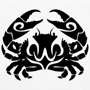 tribal crab 1 Tanks - Women's Premium Tank Top