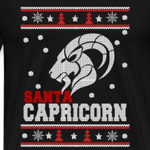 Capricorn-Ugly Christmas sweater for Carpricorn - Men's Premium T-Shirt