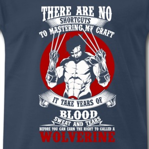 Wolverine-It takes years to be called a Wolverine - Men's Premium T-Shirt