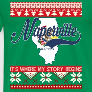 Naperville-Naperville where my story begins - Men's Premium T-Shirt