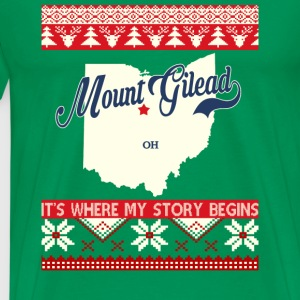 Mount gilead- Mount gilead where my story begins - Men's Premium T-Shirt