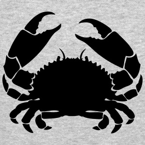 crab cancer 1 Long Sleeve Shirts - Crewneck Sweatshirt