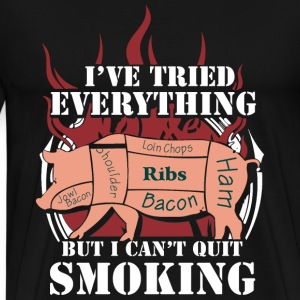 Smoking - I've tried everything to quit smoking - Men's Premium T-Shirt
