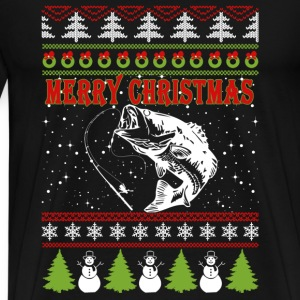 Fisher-Christmas awesome sweater for fisher - Men's Premium T-Shirt