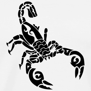 tribal scorpion 1 T-Shirts - Men's Premium T-Shirt