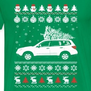 Forester-Awesome forester christmas sweater - Men's Premium T-Shirt
