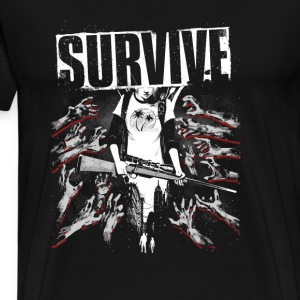 Survive-Awesome t-shirt for fans of this game - Men's Premium T-Shirt