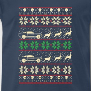 Mustang-Mustang christmas sweater for mustang love - Men's Premium T-Shirt