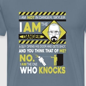 Breaking bad-I am the danger awesome t-shirt - Men's Premium T-Shirt