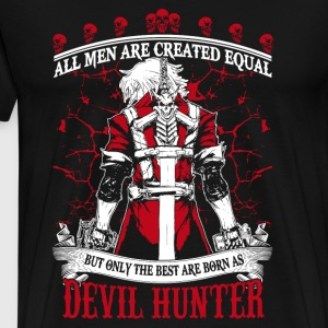 Devil Hunter-The best are born as Devil hunter DMC - Men's Premium T-Shirt