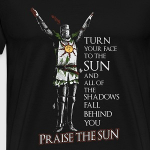 Praise the sun-T-shirt for dark soul fans - Men's Premium T-Shirt