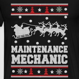 Maintenance mechanic - Mechanic christmas Sweater - Men's Premium T-Shirt
