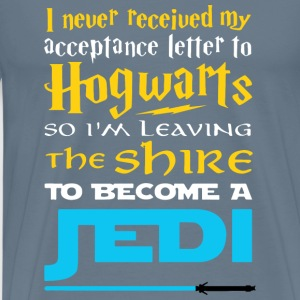 Jedi-I'm leaving the shire to become a Jedi - Men's Premium T-Shirt