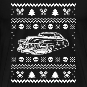 Hot rod Chrismas - T-shirt for Hot rod fans - Men's Premium T-Shirt